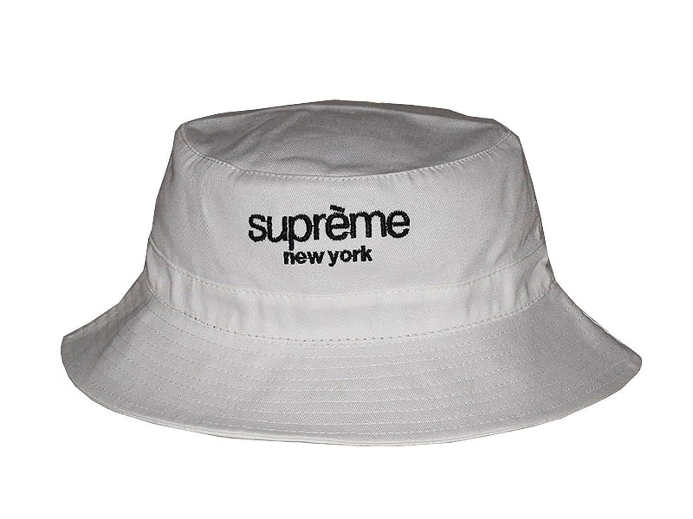 New 2017 Fashion White Supreme New York Bucket Hat  Amazon.co.uk  Sports    Outdoors 74c3e5535a6