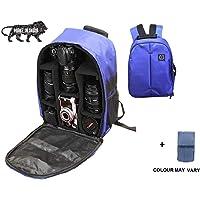 Brain Freezer DSLR/SLR Camera Lens Shoulder Backpack Case for Canon Nikon Sigma Olympus Camera Navy Blue