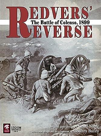 Legion Wargames Leg: Redvers Reverse, la Batalla de Coleno [Sudáfrica], 1899, Juego de Mesa: Amazon.es: Juguetes y juegos