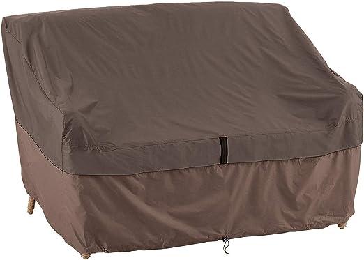 QEES Funda para sofá, Cubierta para Muebles de Patio, Resistente al Agua, Funda para sofá de