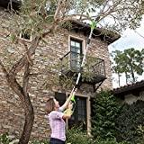 GreenWorks PSPH40B210 G-MAX 40V Cordless Pole Hedge Trimmer and Pole Saw Combo, 2Ah Battery and Charger Included