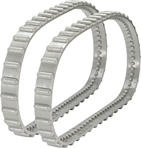 Sikawai RCX23002 Drive Track Belt Replacement for Hayward Tiger Shark Series Pool Cleaner,Soft Tread Fits for in-ground Robotic Pool Cleaners-Replaces 23001, 23002 (2 Packs)