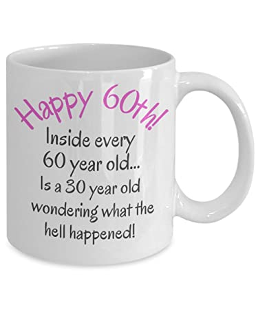 60th Birthday Gifts For Women Men Mom Dad Fun Christmas Gag Gift