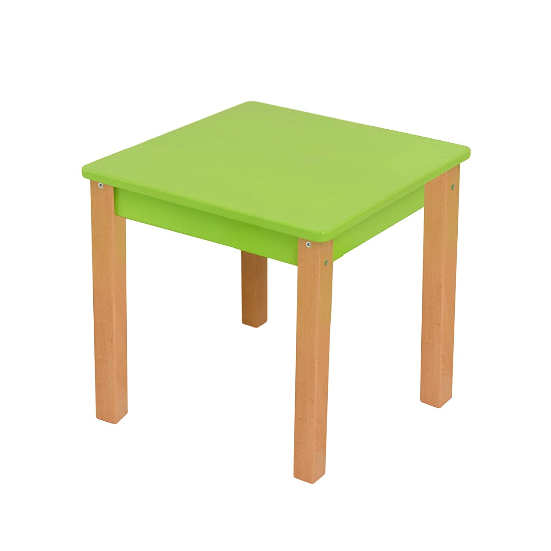 Bilira/_Kids Kindertisch Sitzgruppe Holz Tisch St/ü hle Kindersitzgruppe Sitzm/ö bel Kinder Tischgruppe Kinderm/ö bel Tisch-Set Sitzm/ö bel