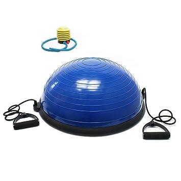 WilTec Balón Gimnasia Balance Trainer Ø58cm Media Pelota ...