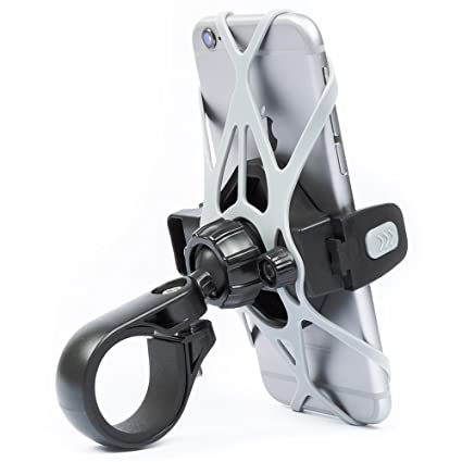 Bicycle Phone Mount >> Phone Holder For Bicycle And Motorcycle Tackform Rigid Design Freedom Bicycle Phone Mount 4 Safety Slings Included Fits Any Smartphone Holds