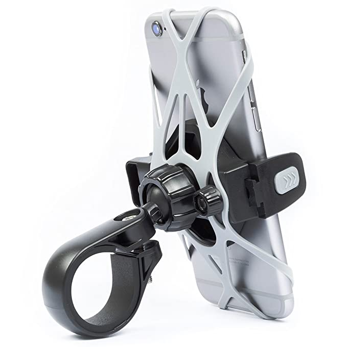 Bicycle Phone Mount >> Amazon Com Phone Holder For Bicycle And Motorcycle Tackform Rigid