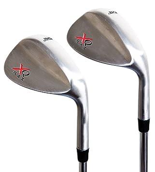 XQ Max Tour Golf Set de cuña cromado 52 cartucho 60 Grado de ...