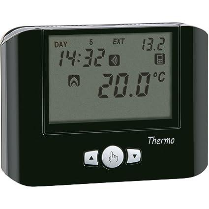 Vemer ve716700 Termostato, Negro