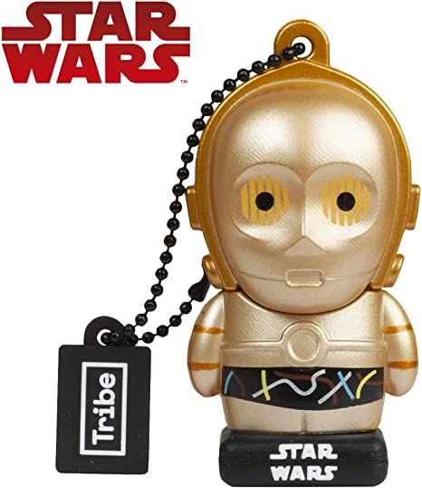 Llave USB 32 GB C-3PO - Memoria Flash Drive 2.0 Original Star Wars ...