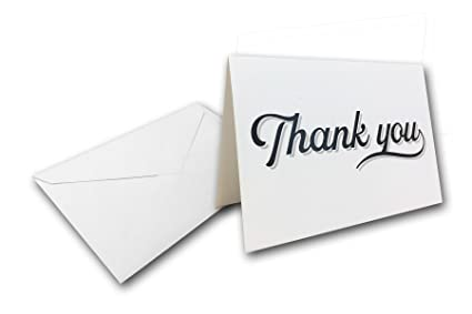 Amazon blank colored thank you cards with envelopes 40 cards blank colored thank you cards with envelopes 40 cards 40 envelopes great for wedding reheart Gallery