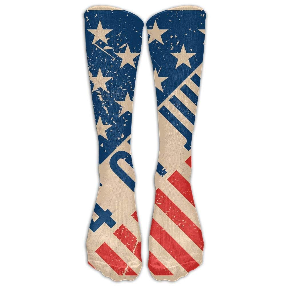 4th Of July Sports Long Socks Gorgeous decoration