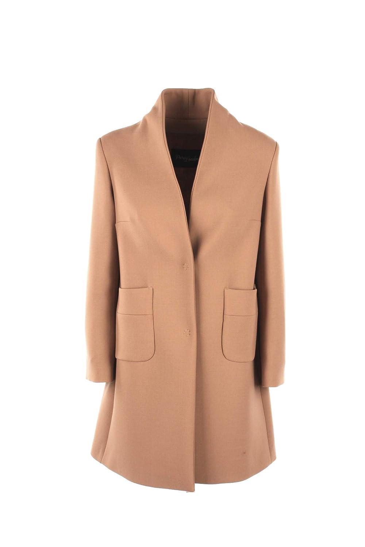 PARIS LONDON Cappotto Donna 46 Cammello Zoe Amburgo Autunno Inverno 2018/19