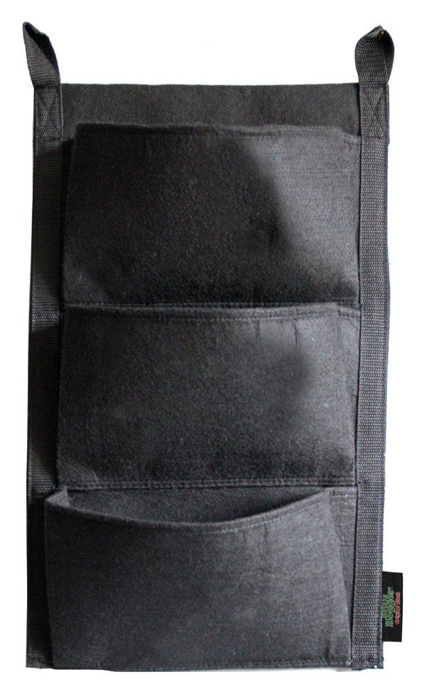 Wall Hogger Maceta de pared, 3 bolsillos, alta calidad: Amazon.es: Jardín
