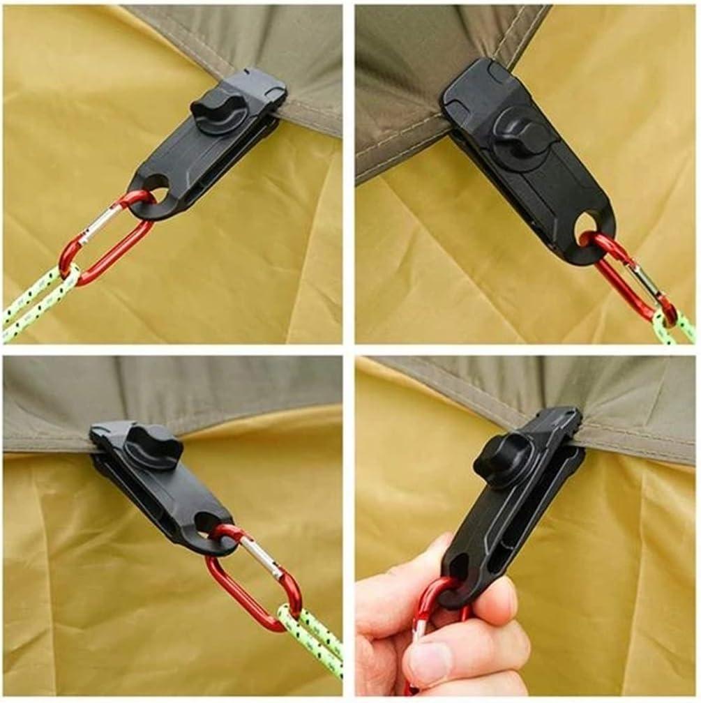Reusable Heavy Duty Linoleum Clip Screw Clips Reusable Heavy Duty Tarpaulin Clips 10pcs Genrics Wiederverwendbarer Hochleistungs-Linoleumclip