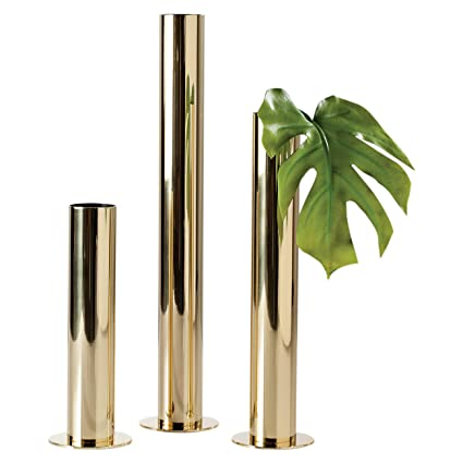 8476be13f05 Image Unavailable. Image not available for. Color  Torre   Tagus 902146 Stainless  Steel Pipe Vase