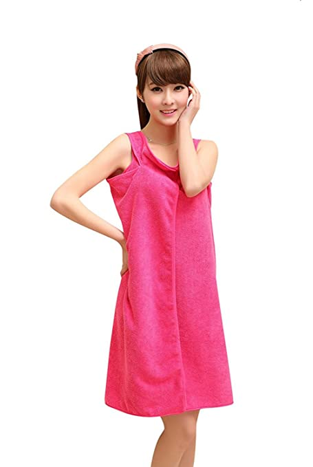 Learned Microfiber Soft Bath Towel Women Sexy Wearable Quick Dry Magic Bathing Beach Spa Bathrobes Wash Clothing Beach Dresses Bbq