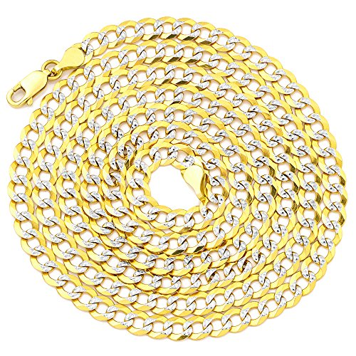 LOVEBLING 14K Yellow Gold 4.5m
