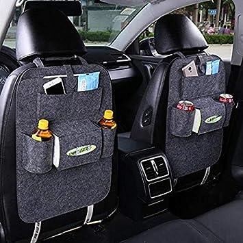 Seat Storage Organizer Cars Back Bags Pocket Kids Protector Baby Bottles Holders