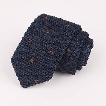 LXTMWSJ Corbata Corbata de Punto para Hombre 7Cm Corbata ...