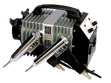 Marca nuevo tipo de Split plástico soldador aire caliente soldadura soldador de plástico de máquina herramienta: Amazon.es: Hogar