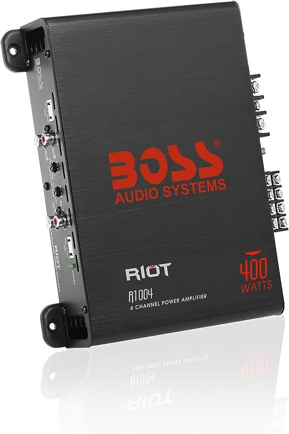 R1004 4 Channel Audio Amp NEW BOSS AUDIO Riot R1100M 1100W Mono Car Amplifier