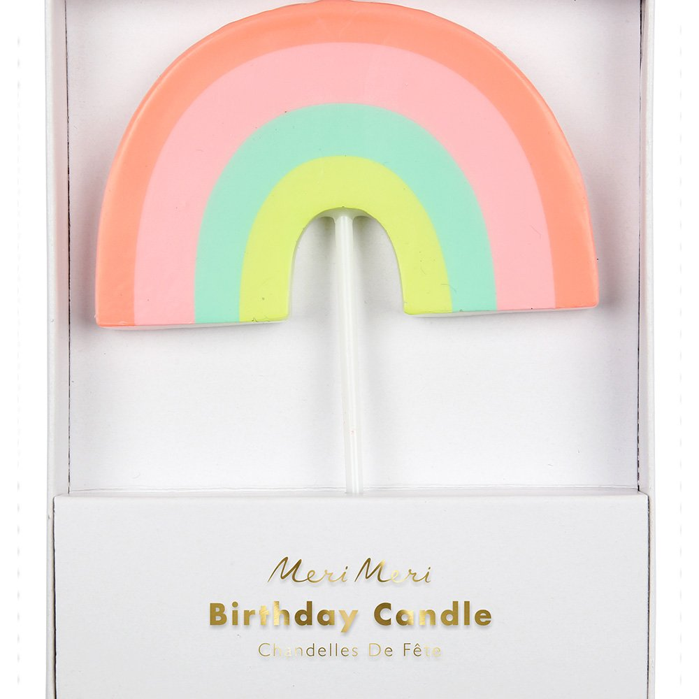 Meri Meri, Rainbow Candle, Birthday, Party Decorations