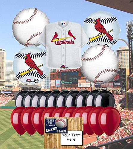 (St Louis Cardinals 25 Piece Balloon Set)