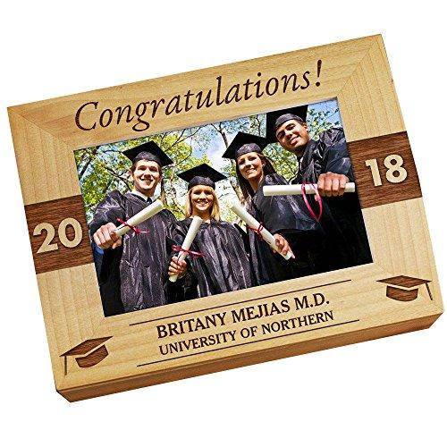 GiftsForYouNow Congratulations Personalized Photo Keepsake -