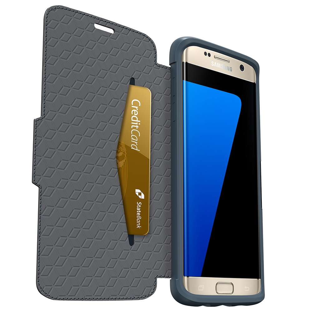 OtterBox STRADA SERIES Case for Samsung Galaxy S7 Edge - Retail Packaging - Tempest Night by OtterBox (Image #2)