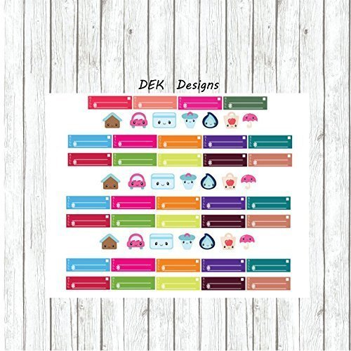 amazon com weekly monthly planning stickers bills due 2 sized