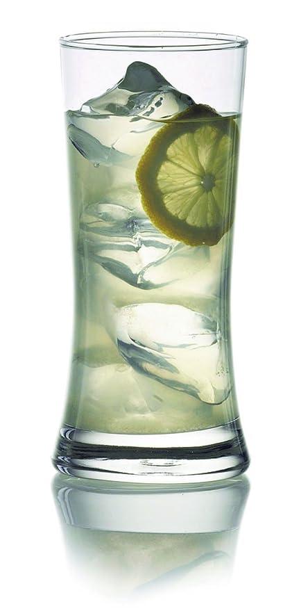 Ocean Tango Tom Collins Glass Set, Set of 6, 425ml, Transparent