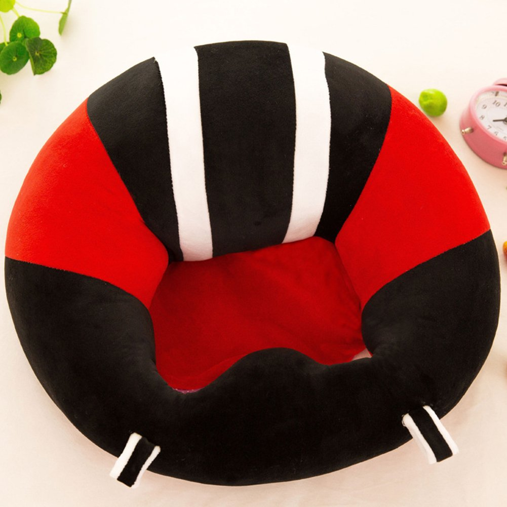 Baby Support Seat Learn Sit Sofa, Colorful Soft Chair Cushion Plush Pillow by Leoie