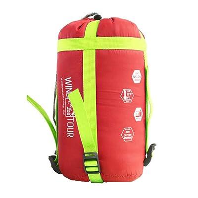 Spring Sport Camping randonnée Sacs de couchage-Watermelon extérieure Rouge