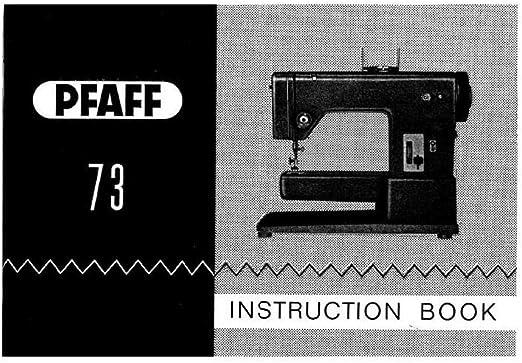 Descargar Pdf-File Pfaff 73 máquina de coser: Amazon.es: Hogar