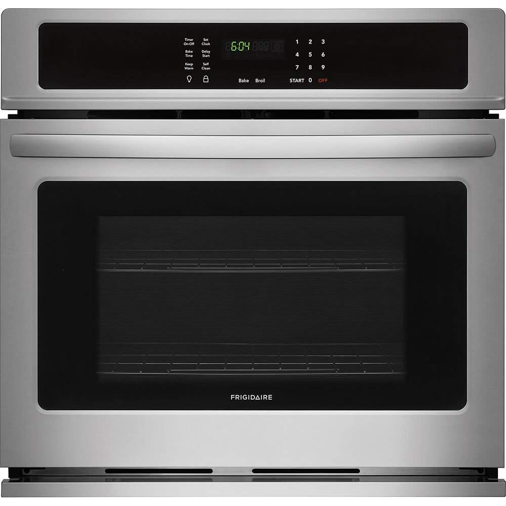 Frigidaire FFEW3026TS 30 Inch 4.6 cu. ft. Total Capacity Electric Single Wall Oven, in Stainless Steel (Renewed)