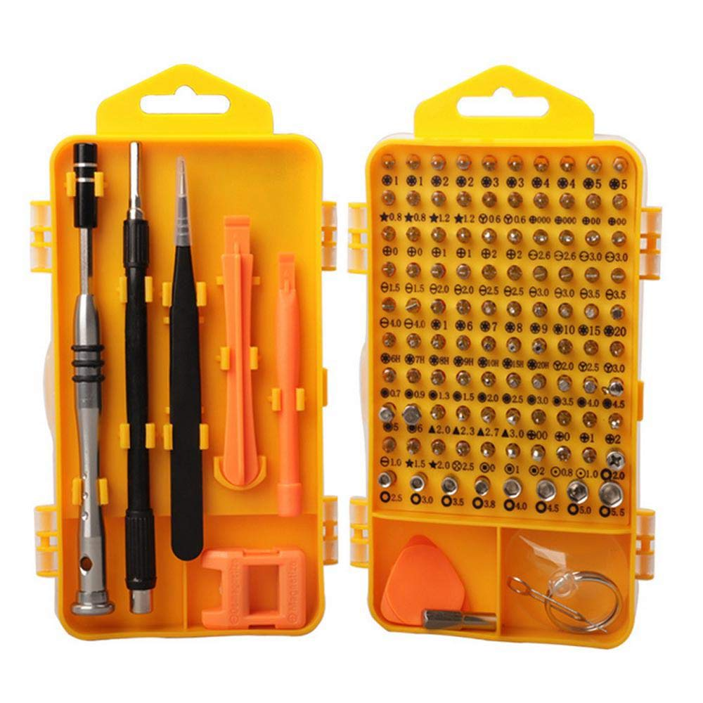Ceepko 110 In 1 Pieces Of Precision Electronic Repair Disassembly Tool Screwdriver Kit, Instrument Maintenance Disassembly Tool Kit, Suitable For Mobile Phone/Watch/Computer/Laptop/Speaker