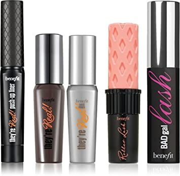 Benefit Most-Wanted Mascara Line-Up Mascara and Eye Liner 5-Piece Set