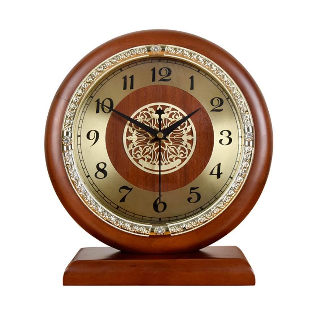 デスククロックファミリークロックミュートクロック、リビングルーム置時計、ベッドルームスタディルームデコレーションリビングルームのベッドルームに最適オフィス(色:サンプル-2) B07THHD6QD Sample-2