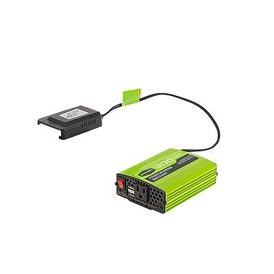 Greenworks 40V 300W Cordless Power Inverter IV40A00: Garden & Outdoor