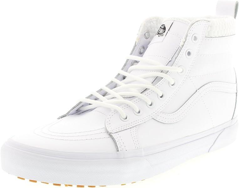 042d99b109 Vans Mens SK8-HI MTE Sneaker True White Mono Size 13