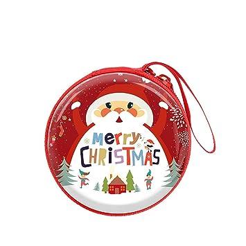 d541bde97 Ankamal Elec® Monedero Billetera Funda para Auriculares Titular de la Clave  Mini Papá Noel Adornos del Festival (4): Amazon.es: Hogar