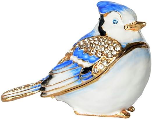 Pewter Robin Bird Figurine
