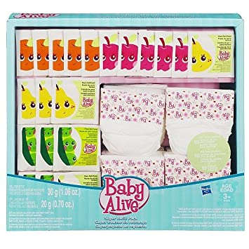 Baby Alive Super Refill Pack Amazoncouk Toys Games