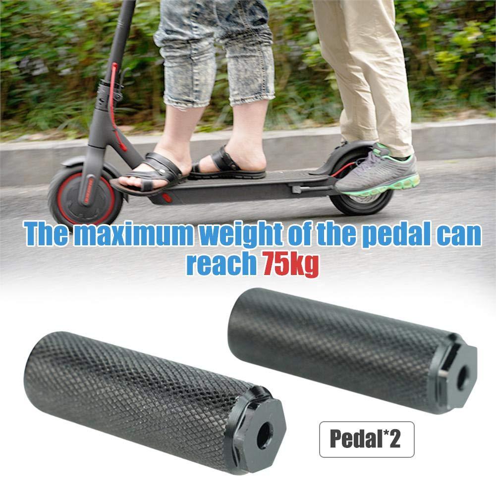 Accesorios De Repuesto para El Pedal del Pie De Apoyo para El Pie Pedales Antideslizantes para Los Scooters El/éctricos Xiaomi M365