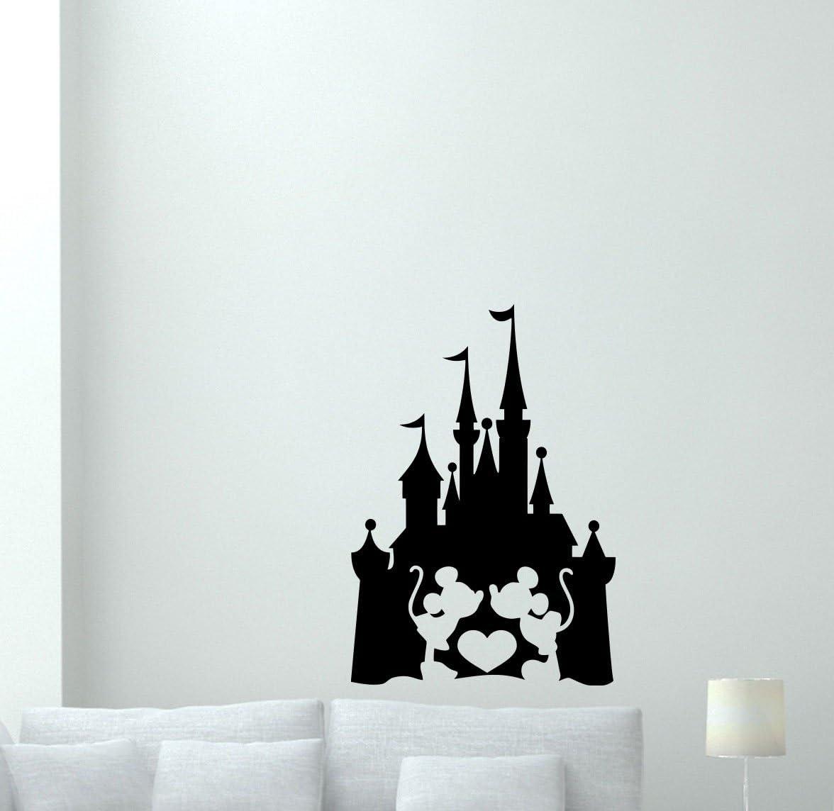 disney castle vinyl wall sticker