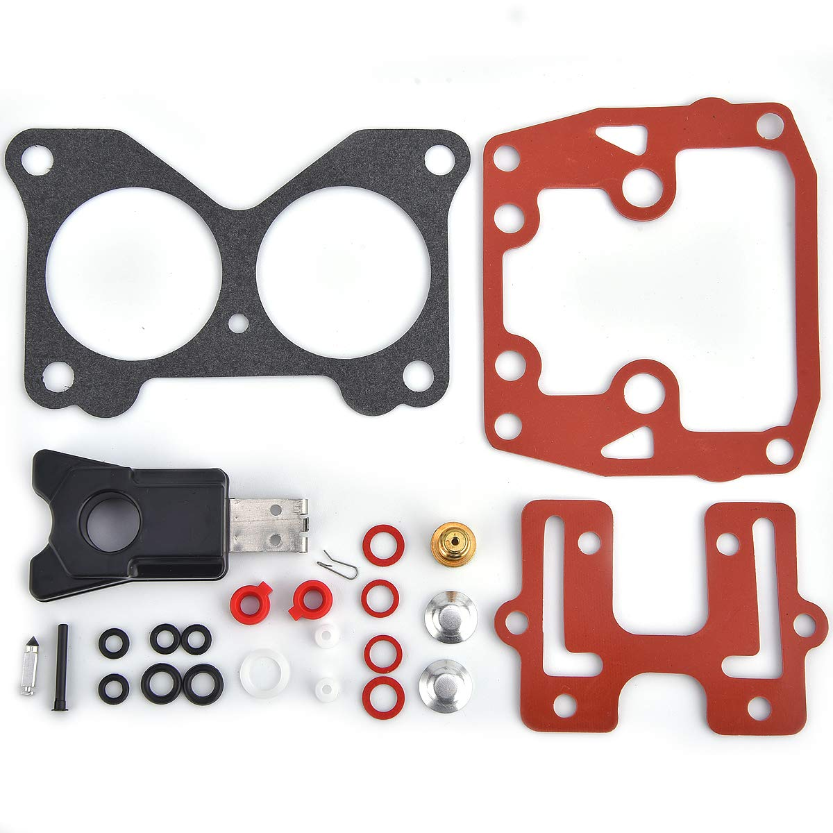 Carburetor 439076 Carb Repair Rebuild Kit for Johnson Evinrude Outboard Motors Replaces 439076