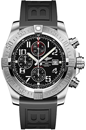 4dd3bcc5b53 Image Unavailable. Image not available for. Color  Breitling Super Avenger  II ...