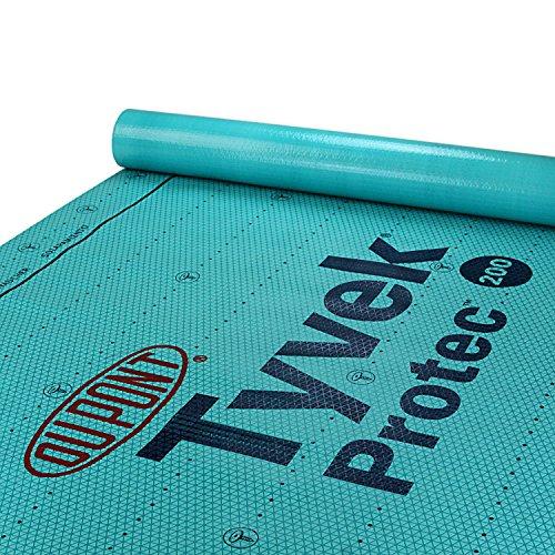 DuPont Tyvek Protec 200 Roof Underlayment - 4' x 250' (Dupont Tyvek Paper)