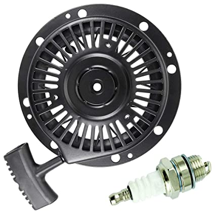 TOPEMAI 590788 Recoil Pull Starter Replace Tecumseh 590746 590748 590704  for Tecumseh HM80 HM100 OHH60 4 Cycle Engine